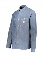Carhartt LS Clink Shirt - Blue Rinsed