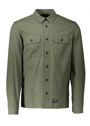 Carhartt LS Mission Shirt - Rover Green