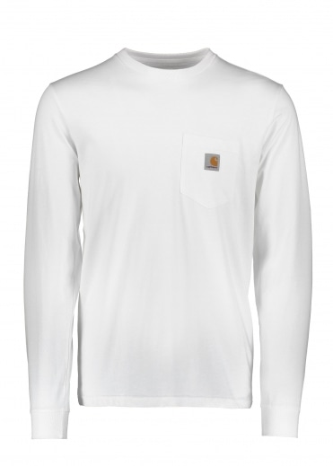 Carhartt LS Pocket T-Shirt - White
