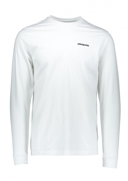 Patagonia LS Responsibili-Tee - White