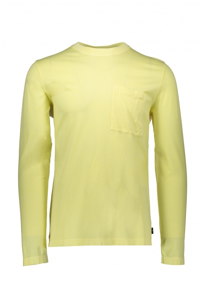 Paul Smith LS T-Shirt Pocket - Lemon