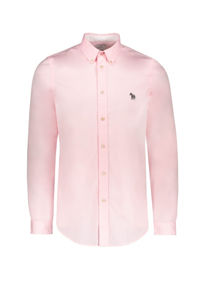 Paul Smith LS Tailored BD Shirt - Pink