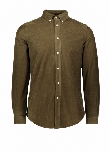 Paul Smith LS Tailored Fit Shirt - Green