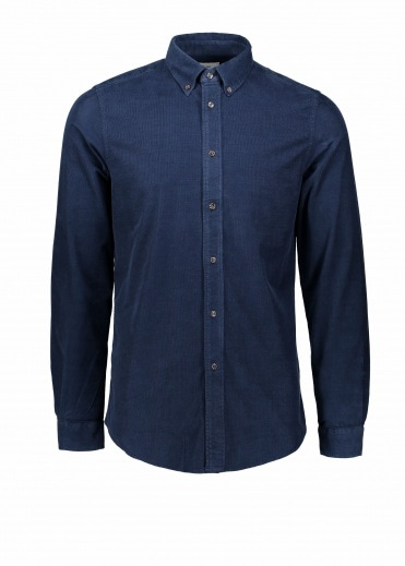Paul Smith LS Tailored Fit Shirt - Navy