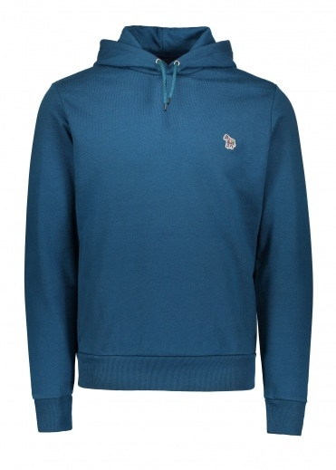 Paul Smith LS Zebra Hoody - Petrol