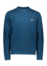 Paul Smith LS Zebra Sweatshirt - Petrol