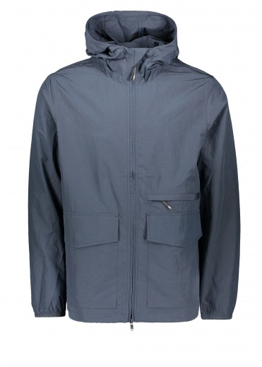 Wood Wood Luke Nylon Jacket - Navy