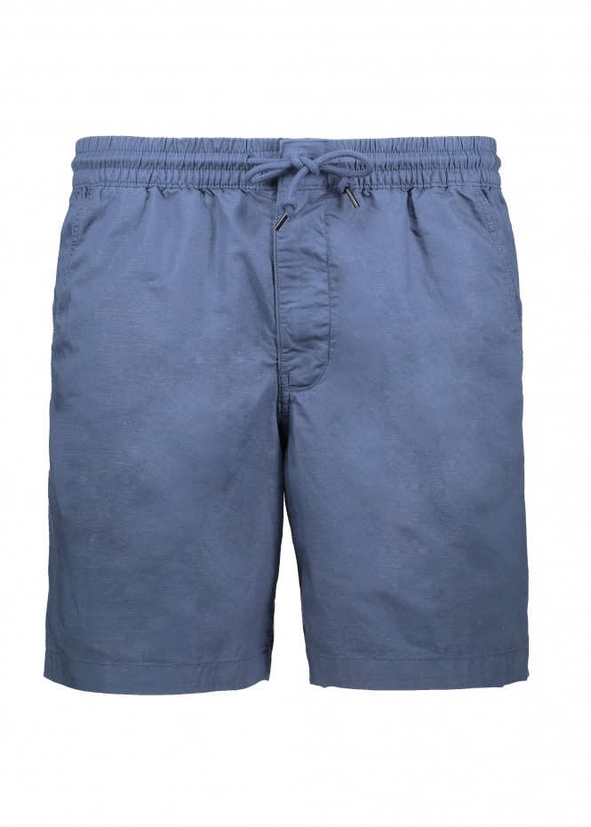 LW All-Wear Hemp Volley Shorts - Stone Blue