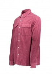 Saturdays NYC Magnus Heavy Cord Shirt - Light Plum