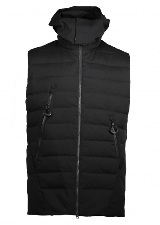Y3 / Adidas - Yohji Yamamoto Matte Down Vest - Black