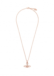 Vivienne Westwood Accessories Mayfair Pendant - Pink Gold
