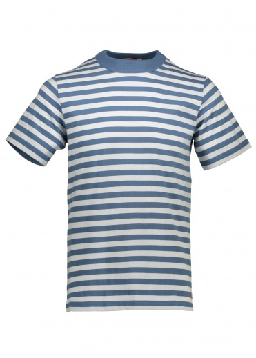 Armor Lux MC Heritage T-Shirt - Moody Blue / Blue