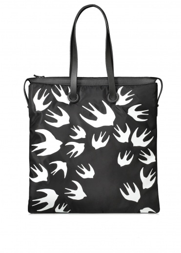 McQ by Alexander McQueen Swallow Magazine Tote - Black