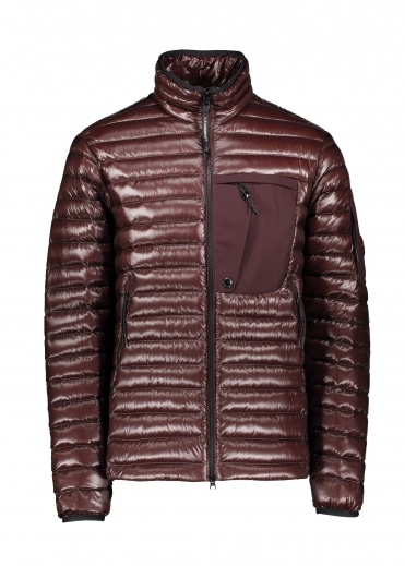 C.P. Company Medium Padded Jacket - Bitter Chocolate