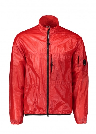 C.P. Company Medium Zip Jacket - High Risk Red