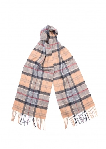 Barbour Merino Cashmere Scarf - Dress