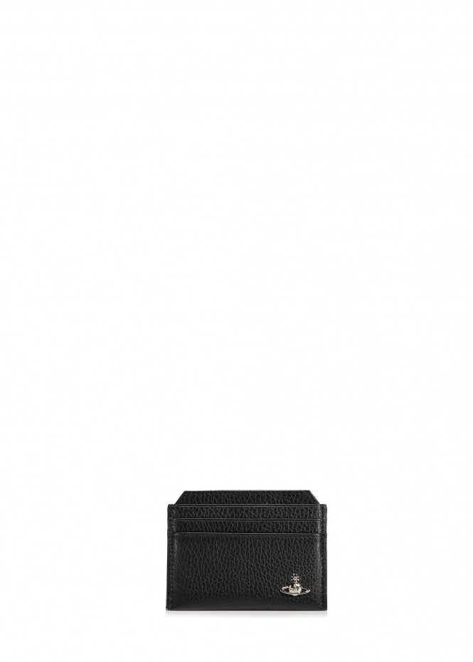 Milano Slim Card Holder - Black