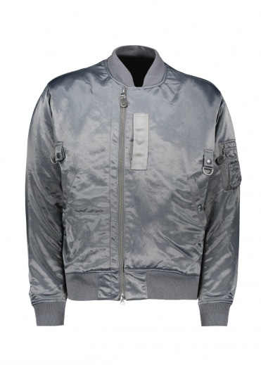 Beams Plus Military Flight Jacket - Silver