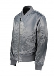 Beams Plus Military Flight Jacket - Silver