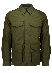 Paul Smith Military Jacket - Dark Green