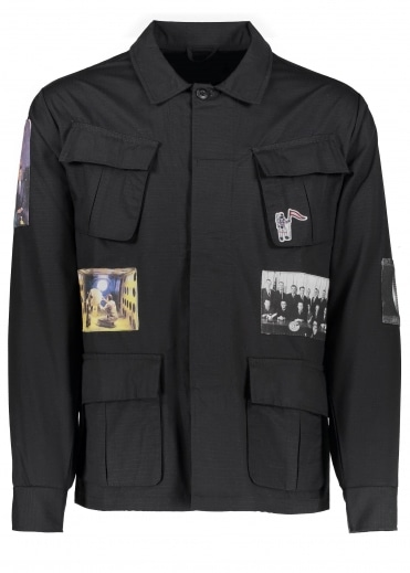 Billionaire Boys Club Military Overshirt - Black