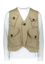 Monitaly Military Vest Type C - Khaki