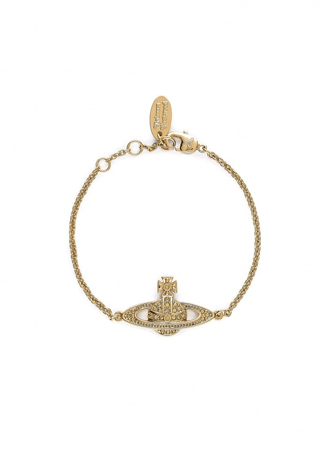 Mini Bas Relief Chain Bracelet - Gold