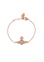 Minnie Bas Relief Bracelet - Pink Gold