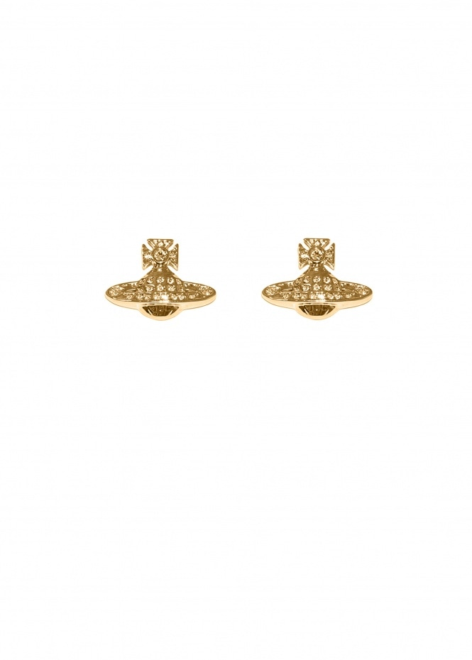 Minnie Bas Relief Earrings - Gold