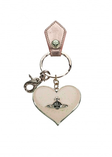 Vivienne Westwood Accessories Mirror Heart Gadget - Gold