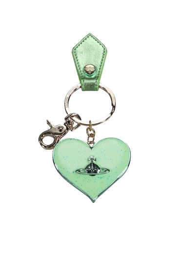 Vivienne Westwood Accessories Mirror Heart Gadget - Green