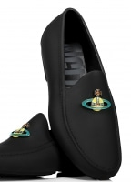 Mocassin Orb Shoes Black