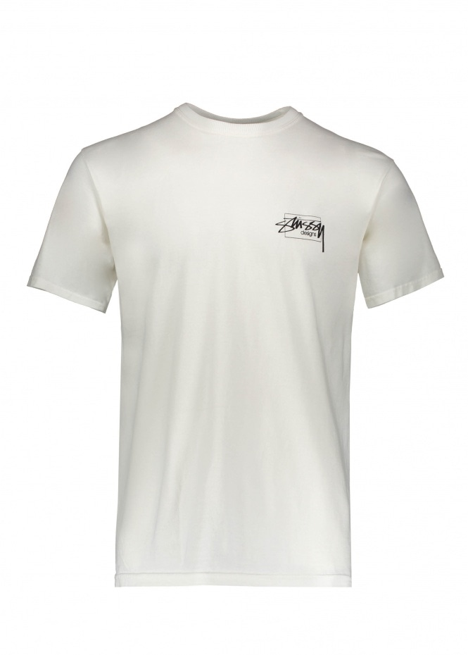 Modern Age Pig. Dyed Tee - Natural