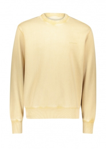 Carhartt Mosby Script Sweat - Dusty Brown