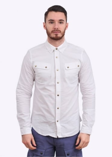 Barbour Mountain Shirt - White