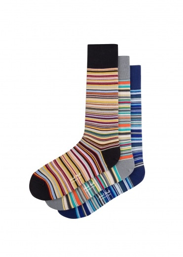 Paul Smith Multi Sock Pack - Multi