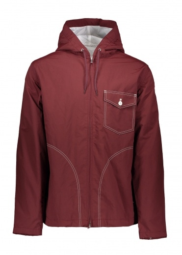 Nanamica Cruiser Jacket - Burgundy