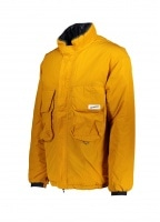 Reversible Insulated Jacket - Orange