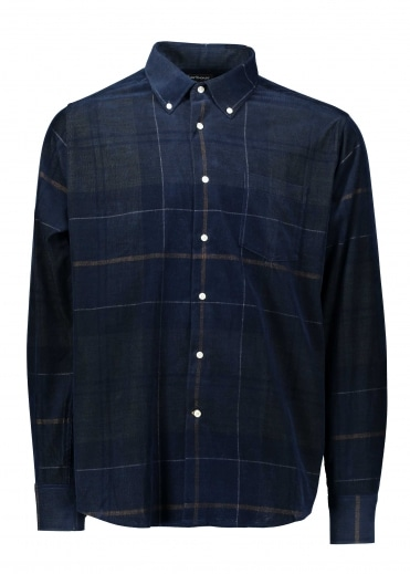 Barbour Nauton Shirt - Forest