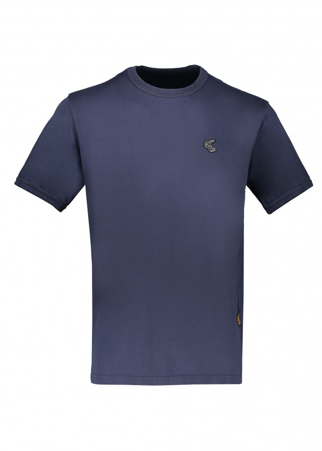 Vivienne Westwood New Classic Badge T-Shirt - Navy