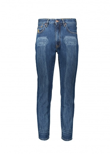 Vivienne Westwood Anglomania New Harris Jeans - Blue