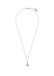 Vivienne Westwood Accessories New Tiny Orb Pendant - Rhodium