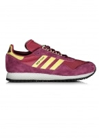 Adidas Originals Footwear New York - Maroon / Gold