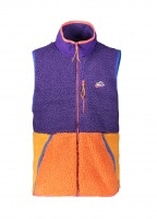 Fleece Vest 547 - Purple / Kumquat