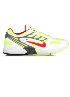 Air Ghost Racer Trainers - White / Atom Red