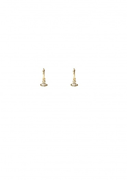 Vivienne Westwood Accessories Nina Sparkle Earrings - White CZ Alternate