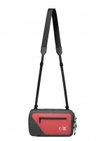 F/CE No Seam Travel Saccoche Bag - Red / Black