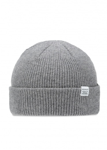 Norse Projects Norse Beanie Light Grey Melang