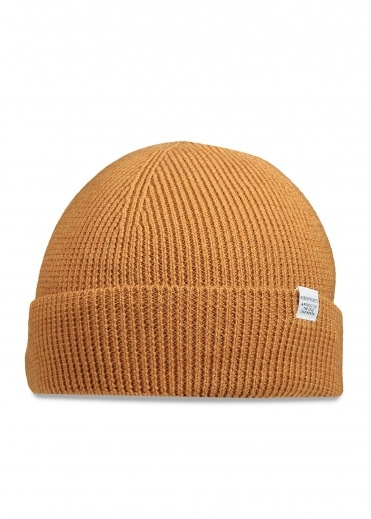 Norse Projects Norse Beanie - Mustard Yellow