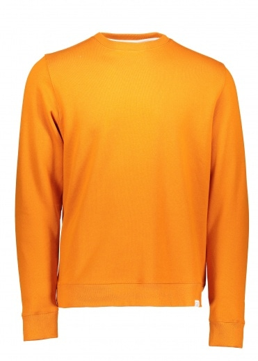 Norse Projects Vagn Crew - Oxide Orange